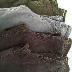 Corduroy jeans Bundle: size 16 sweetheart/old navy